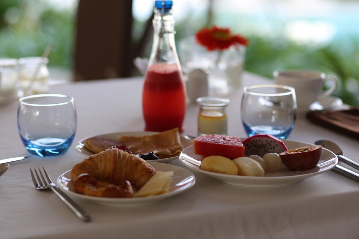 Phu Quoc – The Shell Resort & SPA – Breakfast time