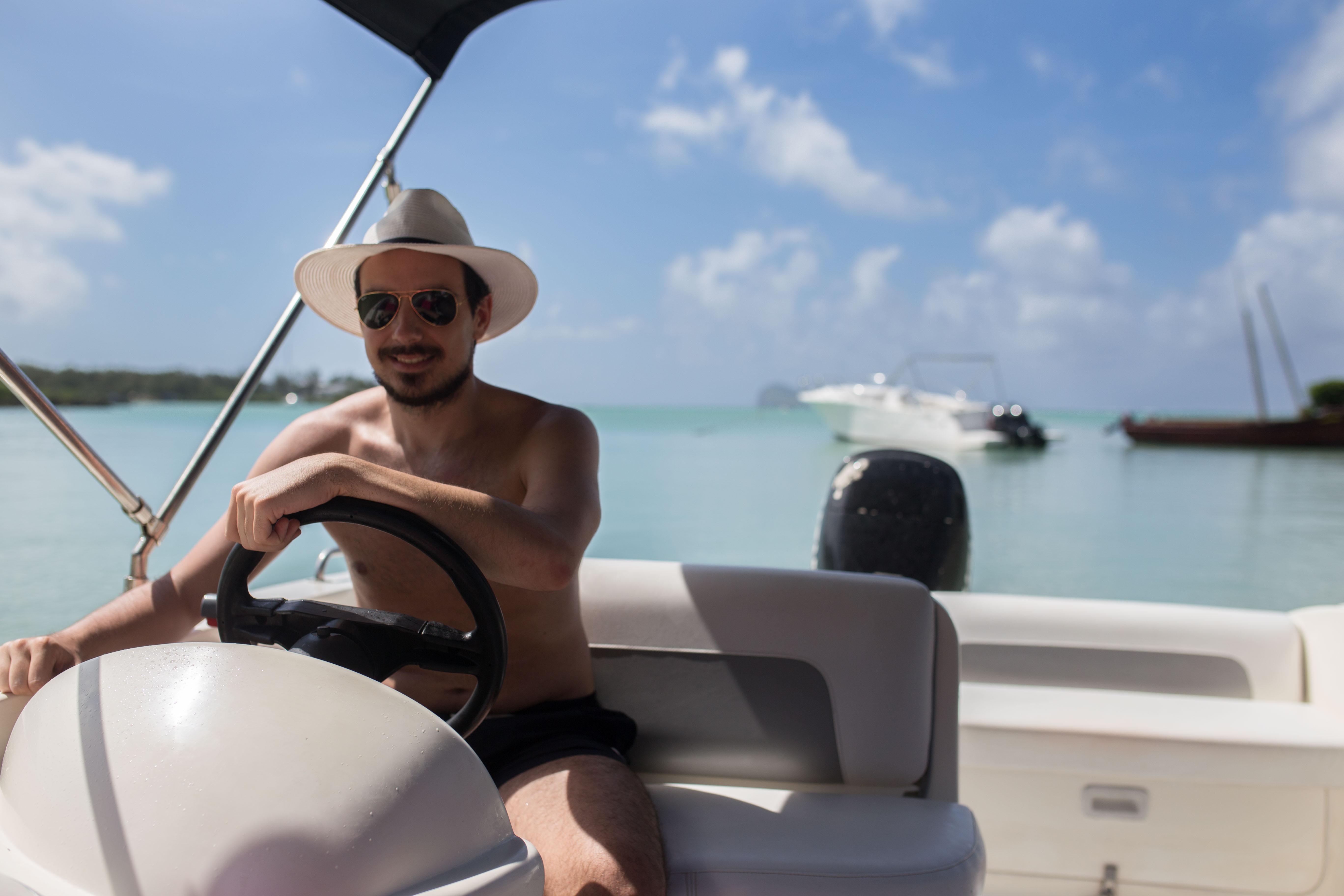 Mauritius – båttur