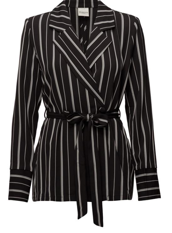 Super snygg & modern blazer med matchade vida byxor