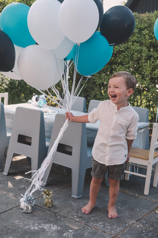 Kalas för Nicolas som fyller 3 år idag!
