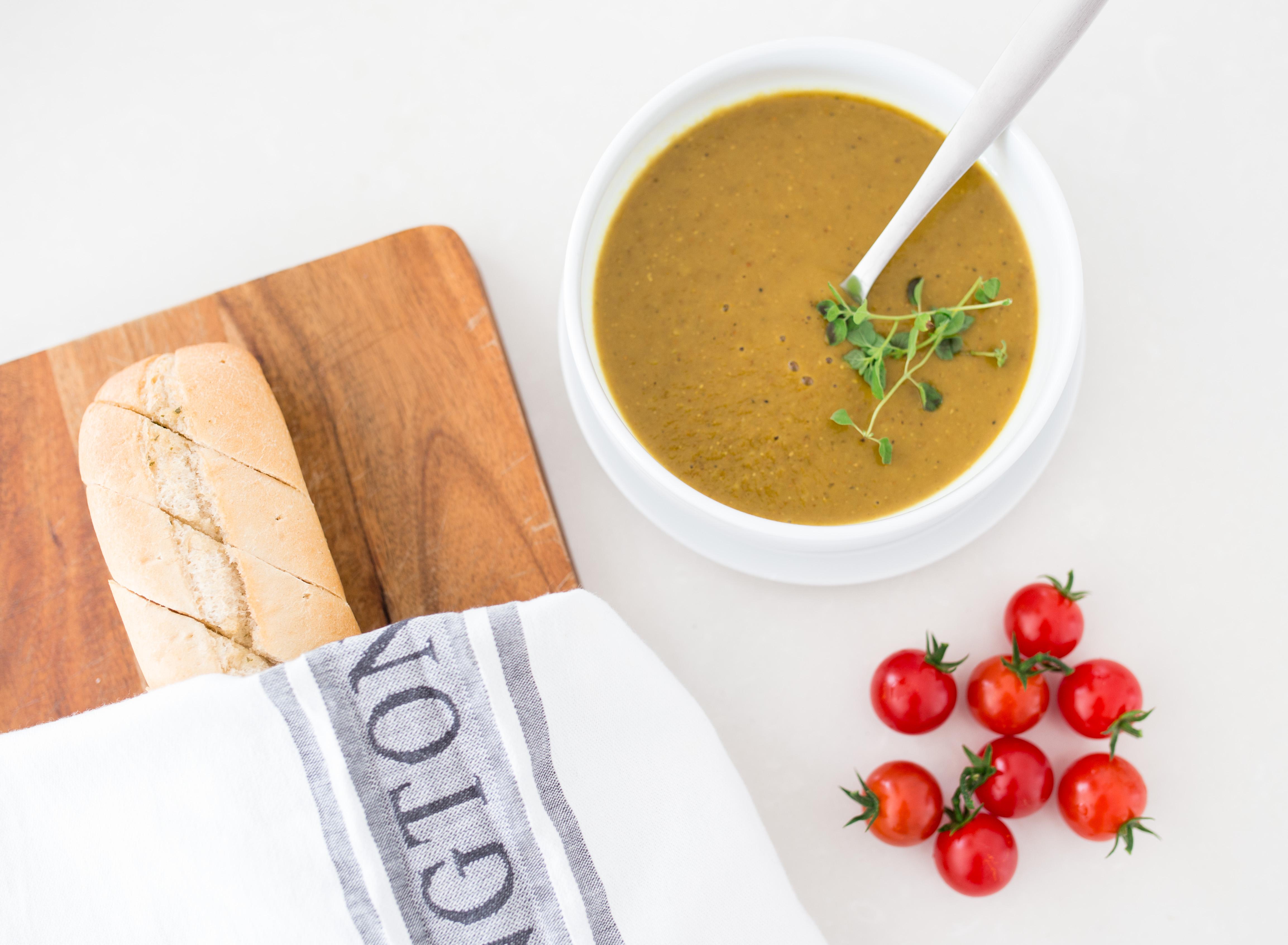 Vegetariska kost – Linssoppa med morötter