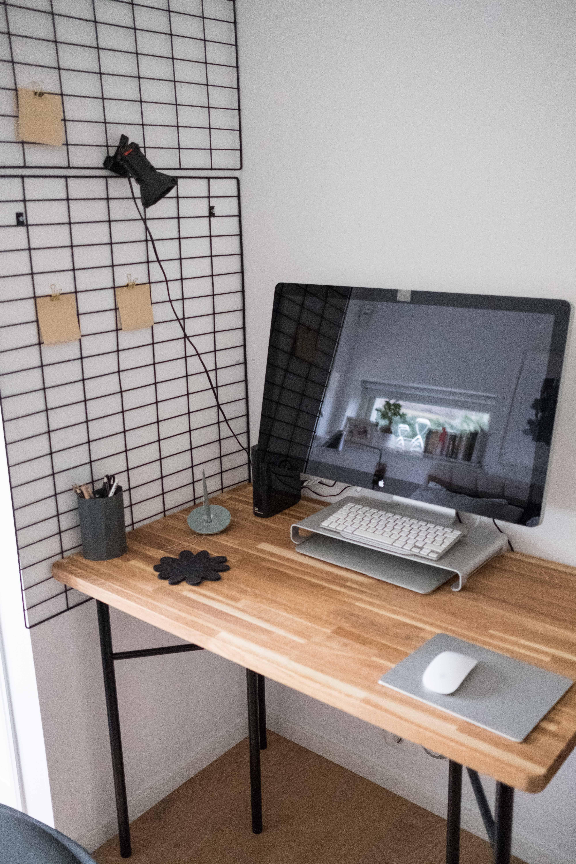 DIY sladdgömma skrivbord