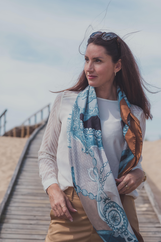 Styla looken med en italiensk scarf