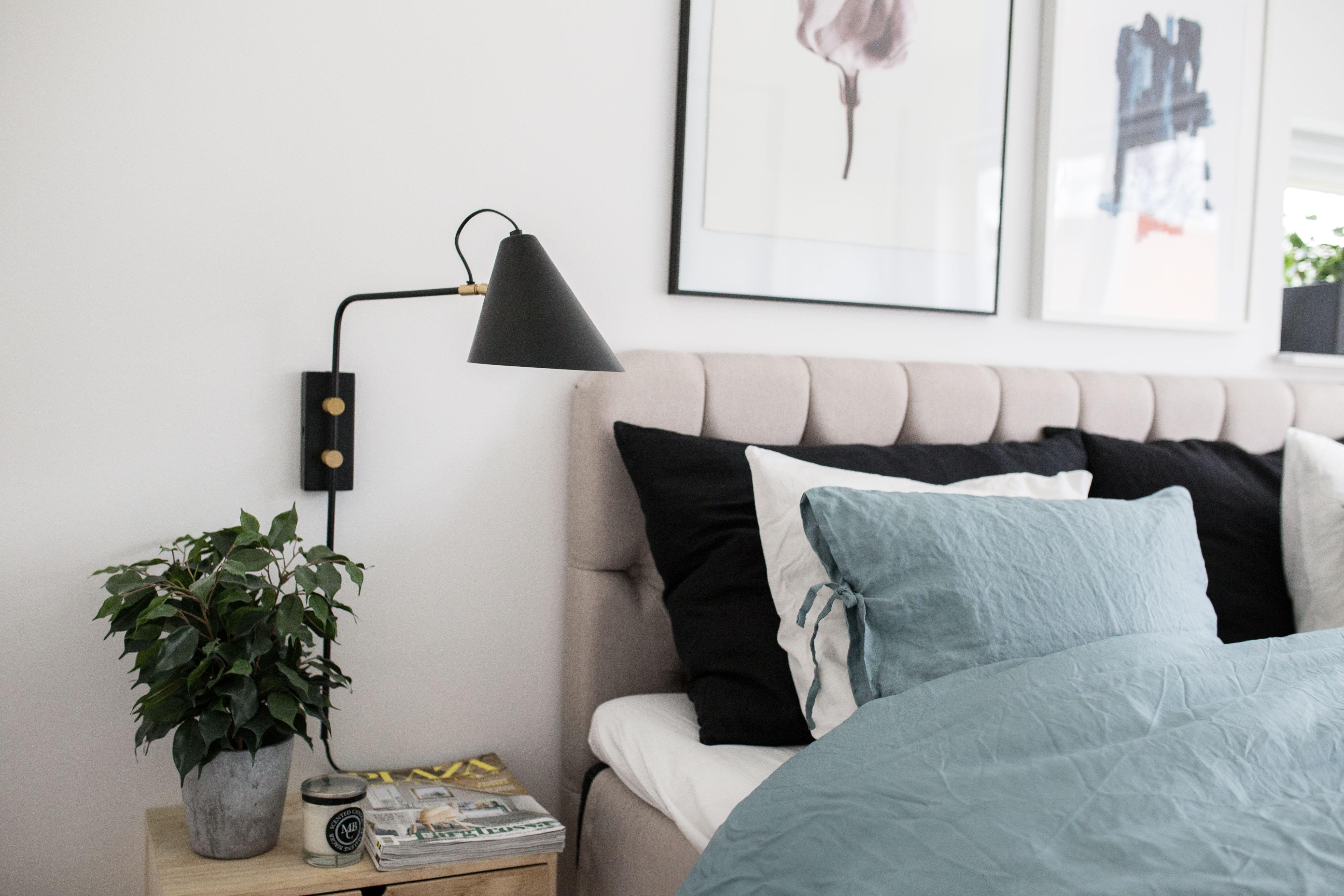 Moderna sänglampor