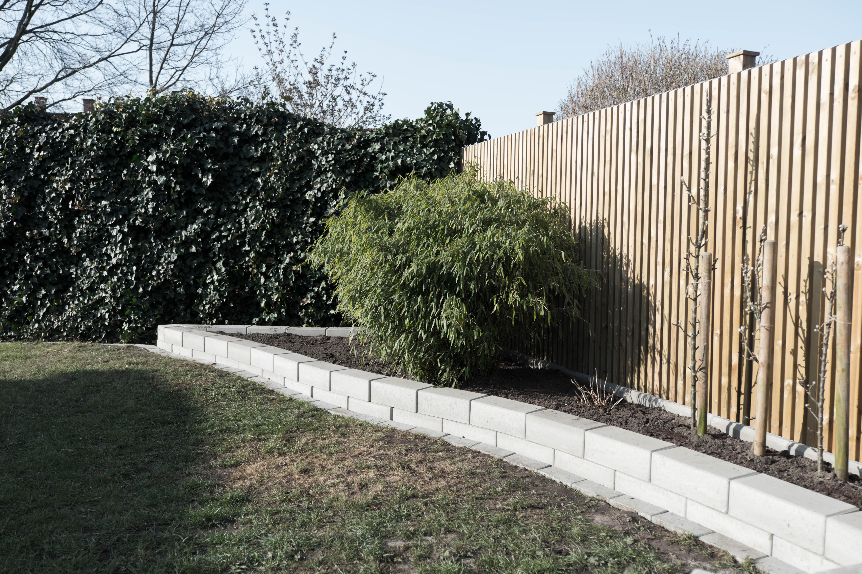 DIY Bygga mur till rabatt | Trädgård