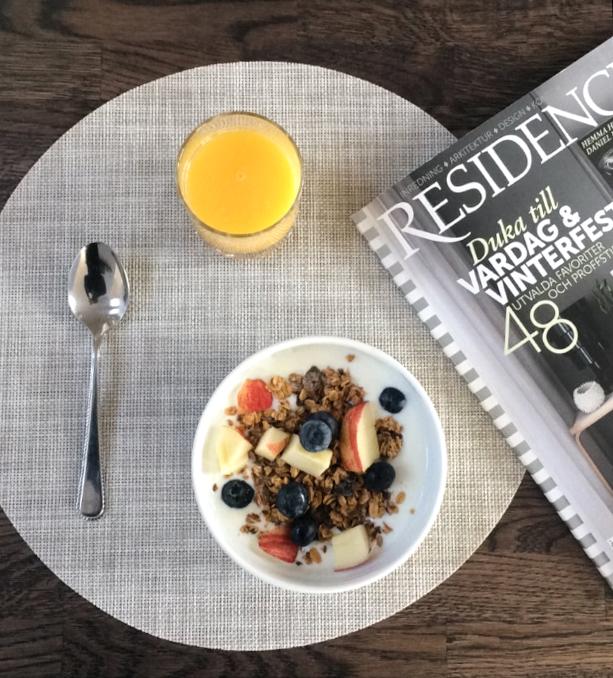 Happy Sunday – healthy breakfast